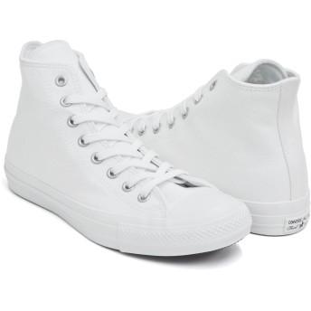 [コンバース] ALL STAR 100 COLORS HI WHITE/WHITE (1CL028) 32961640 26.5(8) US