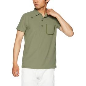 [デサント] ポロシャツ 吸汗速乾 ストレッチ UVカット(UPF15) KH 日本 L (日本サイズL相当)