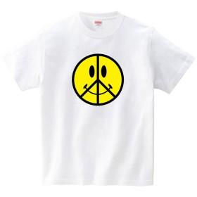[itaxes] スマイリーピース(Tシャツ・ホワイト)(Mサイズ) (JACK IN THE PIX)