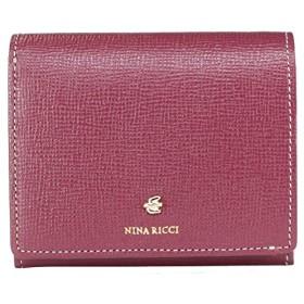 [ニナリッチ] 財布 レディース 折財布 BOX折り財布 折りたたみ コンパクト 本皮 レザー カブリオール 85-1202 ボルドー