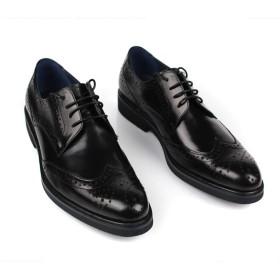 MAXTEC ビジネスシューズ レースアップ 本革 ウイングチップ メンズ 革靴 ファション