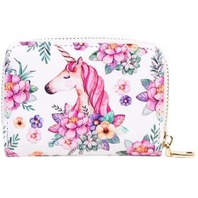 DJHbuy 小銭入れ レディース 磁気防止カードケース 小さい財布 PU素材 女性用 友達や家族に素敵のプレゼント