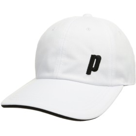 [プリンス] テニスウェア UVラウンディシュキャップ [ユニセックス] PH591 ホワイト (146) 日本 フリーサイズ (FREE サイズ)