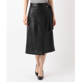 自由区 Class Lounge LEATHER スカート