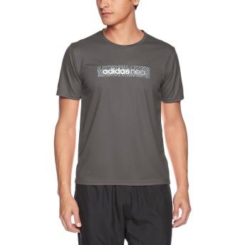 [アディダス ネオ] Tシャツ クルーネック ASC213A メンズ グレー 日本 M (日本サイズM相当)