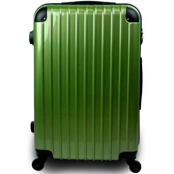 スーツケース キャリーバッグ 3サイズ(大型 Lサイズ/中型 Mサイズ/小型 Sサイズ)TSA搭載 コスモ3000PC 超軽量 ファスナーモデル (Sサイズ 小型 1泊~3泊用, プレミアムオリーブ)