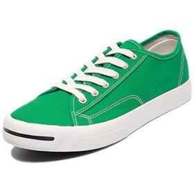 [Donahutt03] キャンバスシューズ 黒 メンズ 歩きやすい グリーン ホワイト ブラック ファッション軽量 ひも靴 ウォーキングシューズ レースアップ みどり 25センチ 27.0cm 25.5センチ 26センチ 疲れない