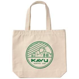 KAVU(カブー) シアトルロゴトートバッグ 19821030 グリーン