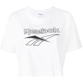 Reebok ロゴ クロップド Tシャツ - ホワイト