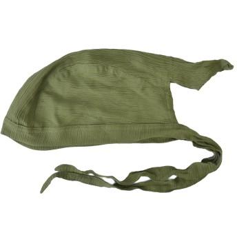 (カジュアルボックス)CasualBox シャーリング レーヨンバンダナキャップ【無地】医療用帽子 バンダナ 帽子 三角巾 (グリーン) [ウェア&シューズ] メンズ レディース 帽子 Charm チャーム