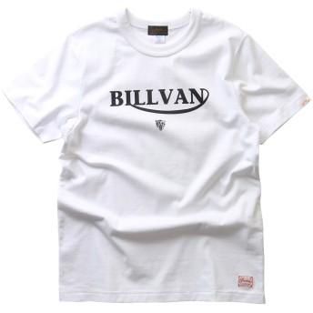 (ビルバン)BILLVAN/Tシャツ/アメリカンスタンダード/トラロゴ/プリントTシャツ/28131 XL WHITE