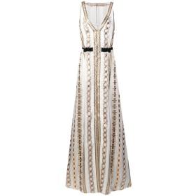 Temperley London Spirit ロングドレス - ホワイト