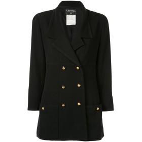 Chanel Pre-Owned ダブルジャケット - ブラック