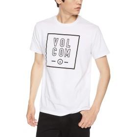 [ボルコム] [メンズ] 半袖 プリント Tシャツ (アジアンFIT)[ AF5119G2 / Apac Flagg Stone S/S Tee ] おしゃれ ロゴ WHT_ホワイト US L (日本サイズL相当)