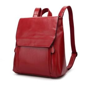 【G-AVERIL】トップレイヤー牛革 リュック女子用天然革韓風大容量バッグ気軽く合わせやすいファションなバッグ
