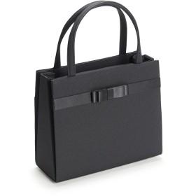 フォーマルバッグ 4点セット ボックスリボン HK-1121N ハンドバック・袱紗・サブバッグ・巾着セット