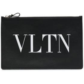 Valentino Valentino Garavani VLTN クラッチバッグ - ブラック