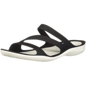 [クロックス] スウィフトウォーター サンダル ウィメン 203998 Black/White 25 cm