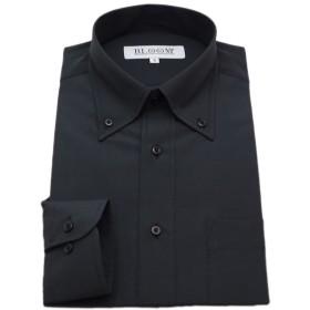 (ブルーム)BLOOM オリジナルワイシャツ 長袖 黒Yシャツ 形態安定 ボタンダウン M