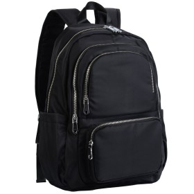 [ヤラックス]Yaluxe レディース 父の日 通勤バッグ ビジネス リュック 撥水 出張 ショルダー掛け タブレット対応 ブラック