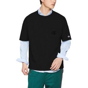 [チャンピオン] ショートスリーブポケットTシャツ C3-P357 ブラック 日本 M (日本サイズM相当)