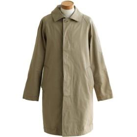 (カトー) KATO' ステンカラーコート コート ラグラン ロング丈 バーバリークロス フォーマル ビジネス S/-01 301/ベージュ
