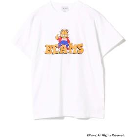 (ビームス)BEAMS/半袖プリントTシャツ/GARFIELD Tシャツ メンズ WHITE S