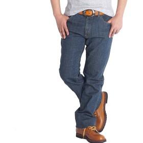 【裾上げ済み】ジーンズ メンズ ストレッチ ウエスト85(股下76cm)6189 オーバーダイ02
