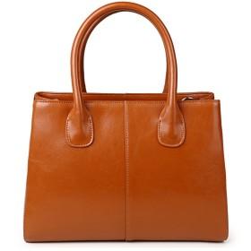 【G-AVERIL】レディース 本革 ハンドバッグ レザー 人気 欧米ファッション潮流大気ハンドバッグ女子斜めかけハンドバッグ