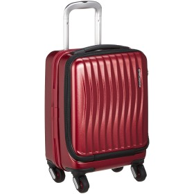 [フリクエンター] スーツケース ファスナー CLAM ADVANCE(クラムアドバンス) ストッパー付コインロッカーサイズ4輪キャリー フロントオープン 消音/静音キャスター 1-217 23L 41 cm 3.1kg ワイン