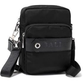BALLY バリー SKYLLER 10 ナイロン クロスボディバッグ ショルダーバッグ メッセンジャーバッグ BLACK メンズ / [並行輸入品]