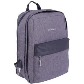 Colohas バックパック USBポート リュックサック PCバッグ 盗難防止 防水 15.6インチ 通勤 通学 旅行 出張 男女兼用