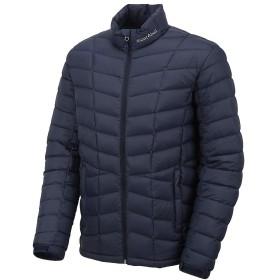 [モンベル] Mont-bell Men`s ZENA Down Jacket メンズダウンジャケット [並行輸入品](ネービー, L)