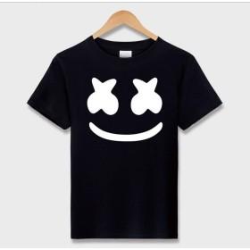メンズ Tシャツ Marshmello DJ マシュメロ 半袖 おしゃれ ユニセックス 大きいサイズ(Large)(タイプ6)