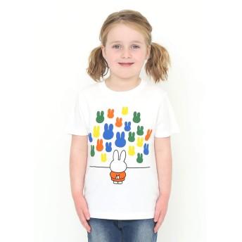 (グラニフ) graniph コラボレーション キッズ Tシャツ ミュージアム (ミッフィー) (ホワイト) キッズ 130 (g28) #おそろいコーデ
