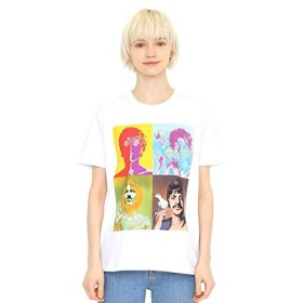 グラニフ(graniph) 【ユニセックス】コラボレーションTシャツ/メンバーアート(ザビートルズ)【001ホワイト/XL】