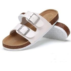 [モリケイ] コンフォートサンダル レディース メンズ キッズ キラキラ 快適 痛くない 高反発 歩きやすい カワイイ 大人 バックル ダブルベルト 調節可能 トング 靴 おしゃれ オシャレ 夏 可愛い 9色 20.0cm-27.0cm
