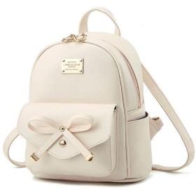 トートバック/ショルダーバック/ハンドバック/Girls Bowknot Cute Bag PU Leather Backpack Mini Backpack Purse for Women Popula