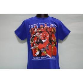特命戦隊ゴーバスターズ Tシャツ TPETS RED PRIDE・ブルー(バンダイ)100CM