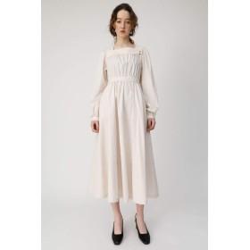 [マウジー] ワンピース ドレス SQUARE NECK LONG ドレス 010CSS30-0590 M ベージュ レディーズ