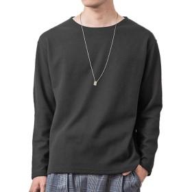 ジョーカーセレクト(JOKER SELECT) メンズ Tシャツ 半袖 七分袖 長袖 カットソー サーマル L ブラック(長袖)