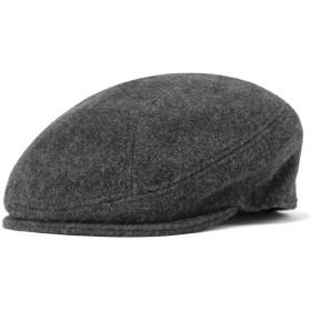 (ニューヨークハット) NEW YORK HAT ハンチング帽 ウール メルトン 1900 チャコール L/XL 約59-60cm