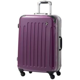 S型 ジェムストーンパープル / newPC7000 スーツケース キャリーバッグ TSAロック搭載 鏡面加工 (1~3日用)