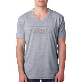 フォールアウト 4 メンズ Tシャツ 半袖 カットソー シンプル 無地 吸汗速乾 軽い 柔らかい