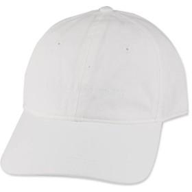 (カルバンクライン)Calvin Klein STRUCTURE FRONT LOGO DAD HAT WHITE ホワイト 16409