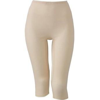 (ワコール)Wacoal スゴ衣 天然素材プラス シャリッとひんやり ひざ下丈 インナーボトム HLE547 BE L