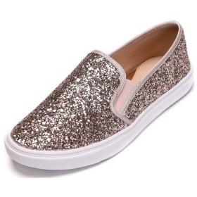 [Feversole] Women's Fashion Slip-On Sneaker レディースファッションスリッポンスニーカー