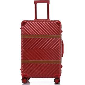 サイズが選べる スーツケース 8輪キャスター 半鏡面仕上げ TSAロック