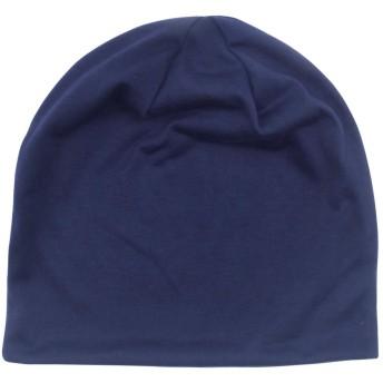 CapGear メンズ カジュアル 無地ビーニー ヴィンテージ シンプル フリーサイズ帽子 オールシーズン スカルキャップ 男女兼用 ブルー