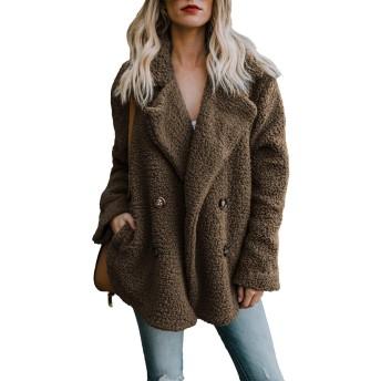 ジャケット ボア コート モッズコート パーカー レディース 裏地つけ もこもこ ふわふわ 保温抗寒 暖かい ファション 春秋冬